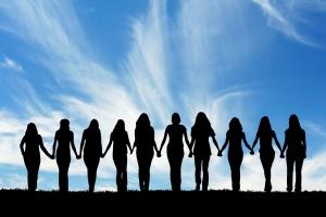 silhouette-women
