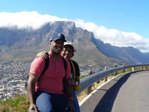 Me and Calvin in Cape Town