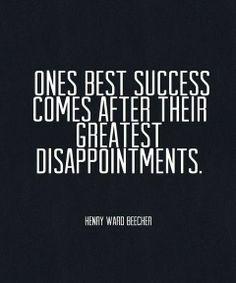 Ones best success