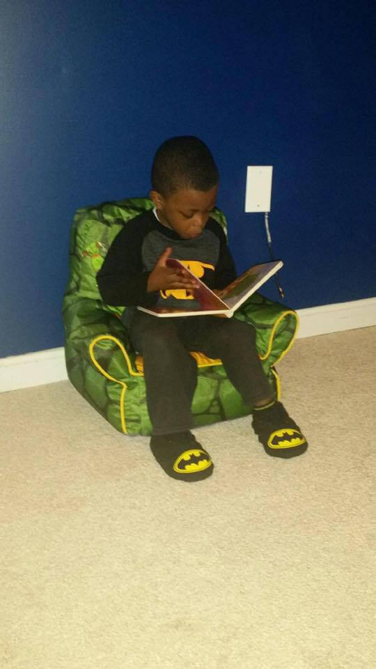 DeAngelo reading