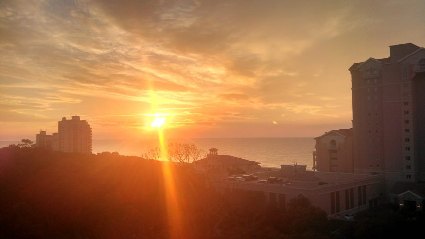 Sunrise over Myrtle Beach