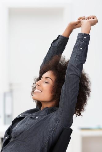 happy-woman-black-work