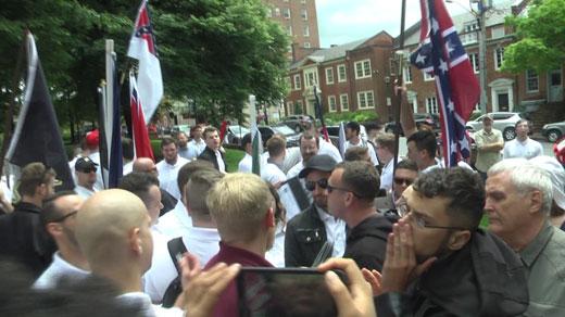 Lee Statute Protestors