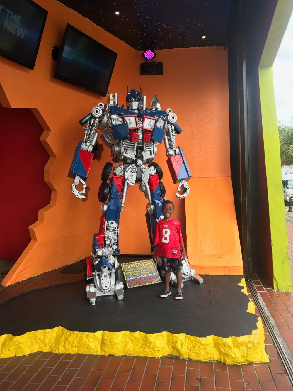 DeAngelo transformer Myrtle Beach 2017