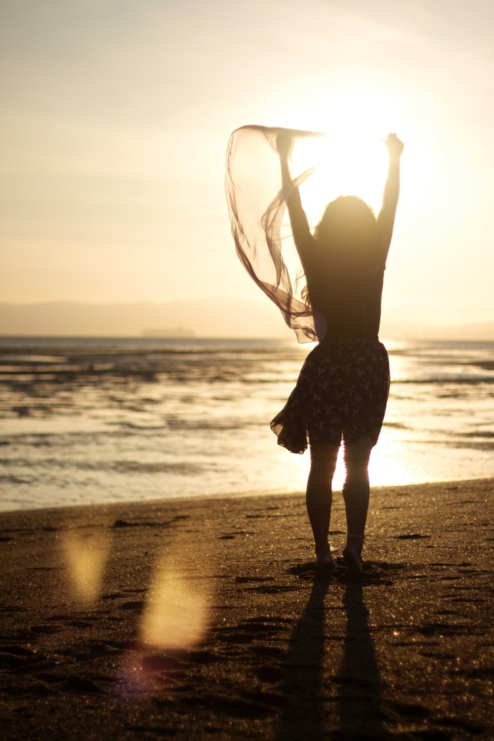 Victorious at the Beach Unsplash