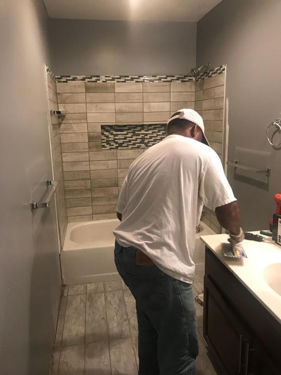 DeAngelos bathroom redesign